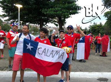 Copa América: Torcedores do Chile apostam em vitória tranquila sobre o Equador