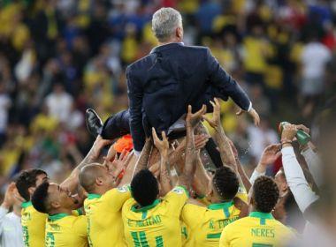 'Me tornei técnico da Seleção hoje', diz Tite após conquistar a Copa América