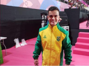 Com prata, Caio Souza conquista 1ª medalha da história do Brasil nas barras paralelas