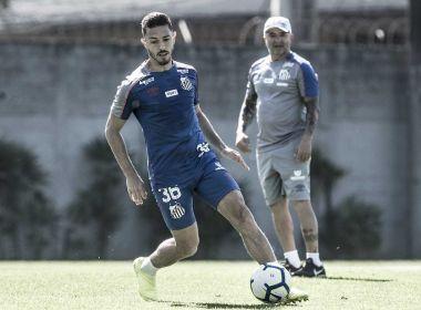 Arrependido, Jean Mota pediu desculpas a Sampaoli e elenco do Santos por desabafo