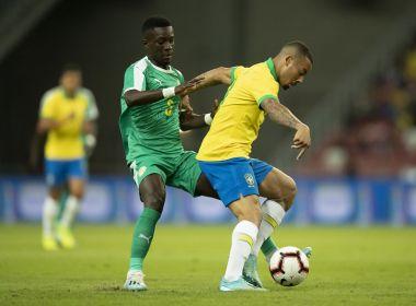 Brasil abre o placar, mas sofre empate do Senegal no amistoso disputado em Singapura