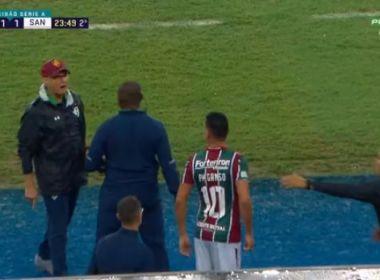 Ganso e Oswaldo são denunciados pelo STJD por discussão em jogo contra Santos