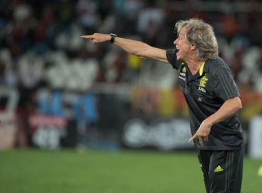 Suspenso, Jorge Jesus não comanda Flamengo contra o Bahia
