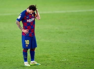 Messi cogita não renovar com Barcelona e deixar equipe em 2021