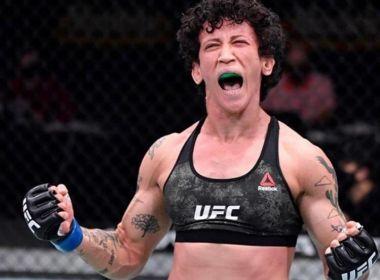 UFC 252: Virna Jandiroba recebe bônus de R$ 270 mil após finalizar Felice Herrig