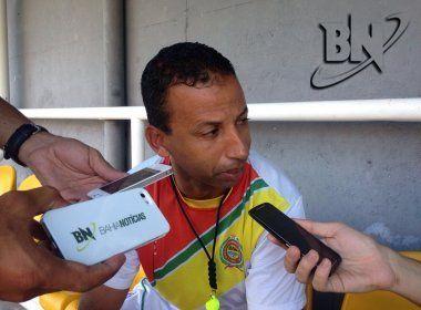 Após saída de Beto Oliveira, Barcelona de Ilhéus anuncia o técnico Sérgio Araújo