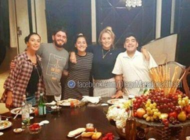 Herança bilionária deixada por Maradona será disputada por 11 filhos