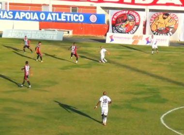 Série D: Atlético de Alagoinhas empata com o Goiânia no Carneirão