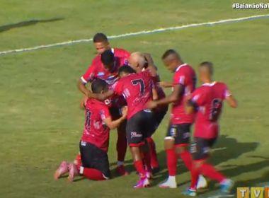 Atlético de Alagoinhas aplica três no Doce Mel e assume liderança do Baianão