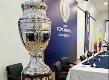 Conmebol anuncia o Brasil como sede da Copa América