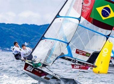 É ouro! Martine e Kahena são bicampeãs olímpicas na classe 49er FX da vela