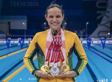 Com 72 medalhas conquistadas, Brasil termina Paralimpíadas no 7º lugar