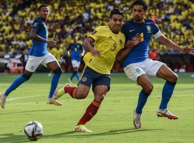Fora de casa, Brasil empata com a Colômbia e perde 100% nas Eliminatórias