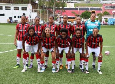 6ed841f622a4d Futebol feminino  Vitória bate São Francisco e fica a um empate da final do  Baiano