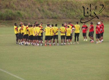 8144fee01e Copa do Brasil  Vitória tem 20 relacionados para decisão diante do Paraná.  Foto  Glauber Guerra   Bahia Notícias