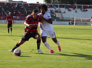 Belusso analisa empate com o Bahia de Feira: 'Não tivemos calma e nem qualidade'
