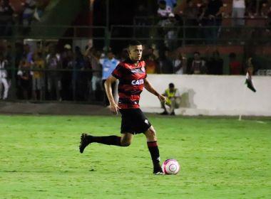Autor de gol contra, Walisson Maia considera injusto empate com o Bahia de Feira