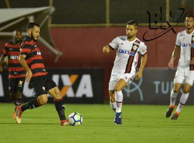 Em jogo eletrizente, Vitória empata com o Flamengo no Barradão