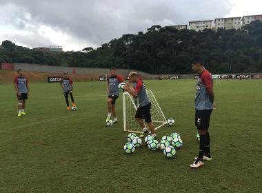 Vitória encerra primeira semana de treinos de olho no retorno do Brasileirão