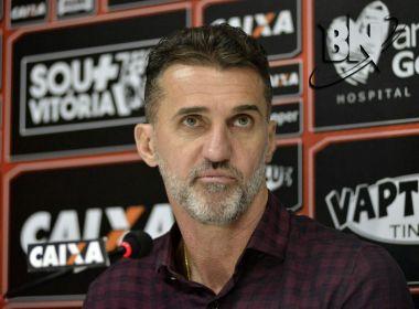 Vagner Mancini não resiste à goleada e é demitido do Vitória