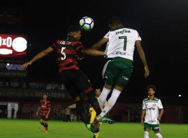 Brasileiro Sub-20: Vitória sofre goleada do Palmeiras em jogo marcado por confusão