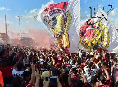 Vitória mantém promoção com ingressos a R  10 para clássico contra o Bahia 36bffee92b17e