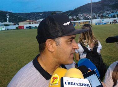Marcelo Chamusca analisa triunfo sobre o Jacobina e faz críticas ao gramado