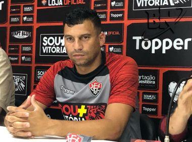 Neto Baiano é registrado no BID e fica à disposição do Vitória para jogo contra Ceará