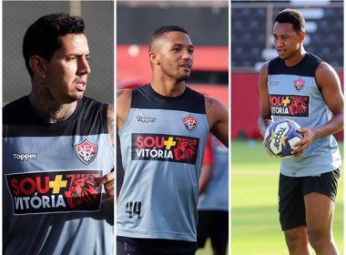 Vitória relaciona Victor Ramos, Felipe Garcia e Fabrício contra o Confiança