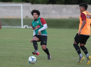 Vitória faz penúltimo treino antes do duelo contra o Sport