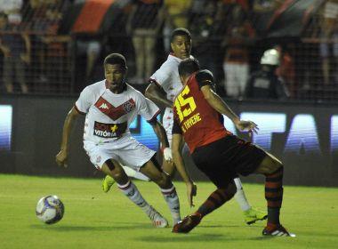 Vitória é derrotado pelo Sport e cai para a lanterna da Série B