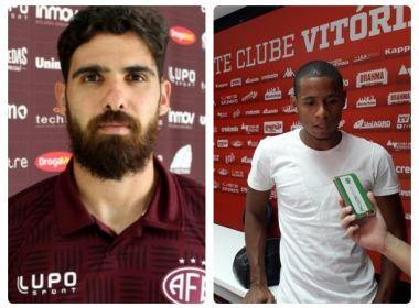 Rayan e Everton Sena assinam pré-contrato com o Vitória, revela Paulo Carneiro