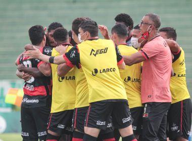Após vencer o Guarani, risco de rebaixamento do Vitória cai para 10,4%