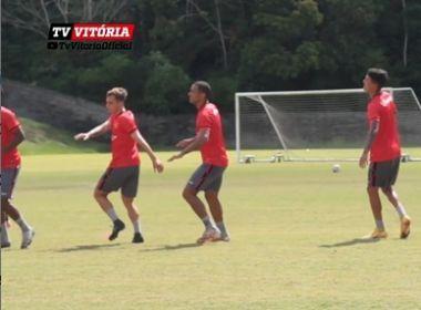 Lateral é oferecido ao Vitória e realiza testes no clube