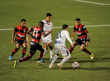 Bahia de Feira e Vitória empatam na Arena Cajueiro pelo Campeonato Baiano