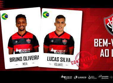 Vitória oficializa contratações de Bruno Oliveira e Lucas Silva