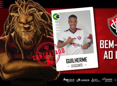 Vitória anuncia contratação do atacante Guilherme Santos