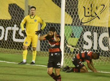 Risco de rebaixamento do Vitória para a Série C chega a 66%