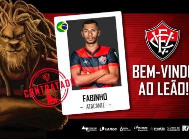 Vitória anuncia contratação do atacante Fabinho para a sequência da Série B
