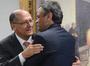 'Ideal é que Aécio não seja candidato', diz Alckmin em entrevista a rádio