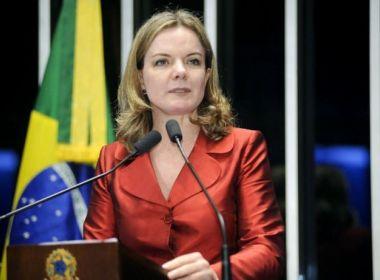 GLEISI HOFFMAN FOI ABSOLVIDA DA ACUSAÇÃO DE CORRUPÇÃO PASSIVA