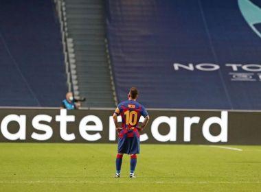 Que um dia eu possa voltar a este clube, diz Lionel Messi ao se despedir do Barcelona