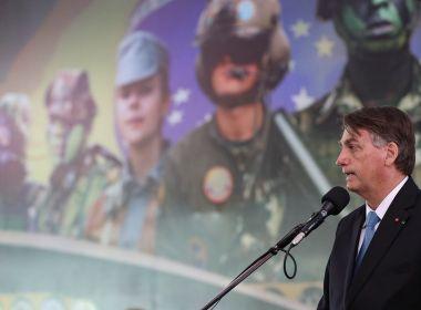 Em crise com STF, Bolsonaro diz ter certeza de 'apoio total' das Forças Armadas