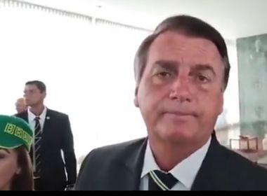 Bolsonaro volta a dizer que Brasil não pode ficar refém de 'uma ou duas pessoas'