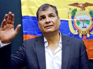 Justiça do Equador ordena prisão preventiva de Rafael Correa