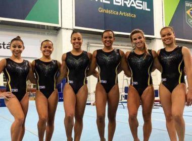 Equipe feminina do Brasil encerra o Mundial de ginástica na 7ª colocação