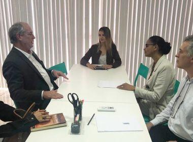 Ciro e Marina se encontram para discutir união na oposição a Bolsonaro