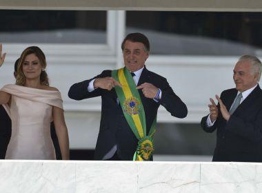 Por segurança, Bolsonaro usou colete à prova de balas em cerimônia de posse