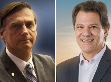 Bolsonaro rebate críticas de Haddad e retoma ataques da campanha eleitoral