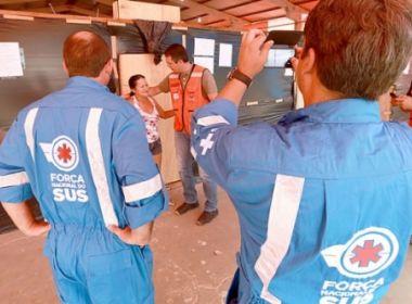 Governo envia Força Nacional do SUS até Brumadinho para prestar apoio às vítimas
